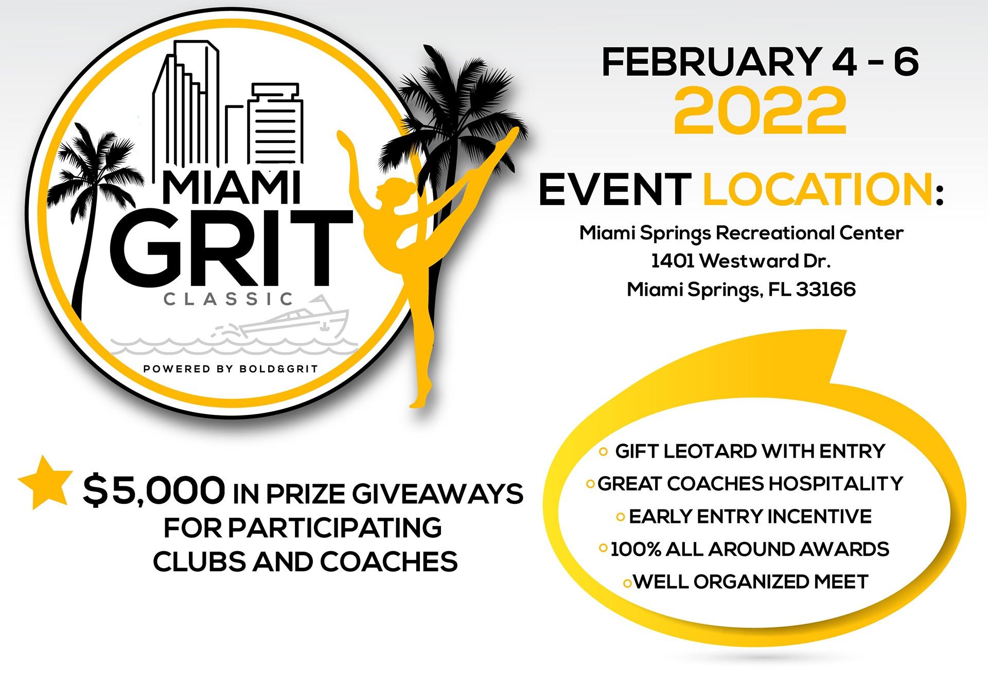 Miami GRIT classic flyer header feb 4-6,2022